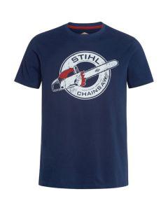 Stihl Contra T-Shirt Blue