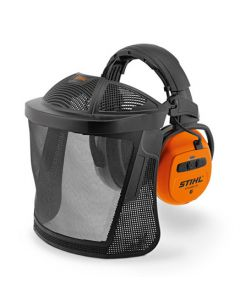 Stihl Dynamic BT-N Bluetooth Nylon Mesh Visor With Ear Protectors