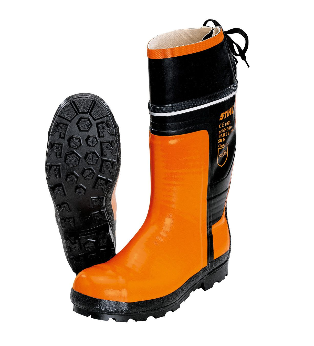 Stihl Special Rubber Chain Saw Boots
