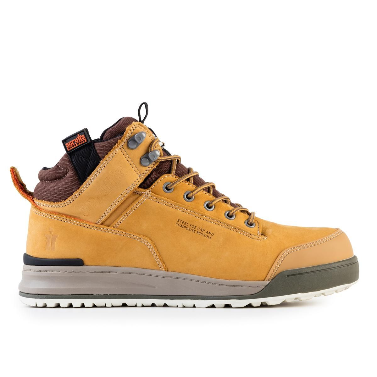 Scruffs Switchback S3 SRA HRO Rated Safety Boots Tan