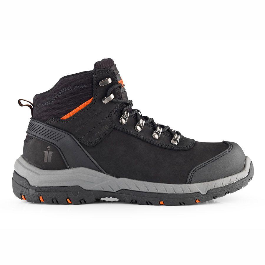 Scruffs Sabatan Safety Boots Black