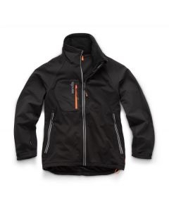 Scruffs Trade Flex Softshell Jacket Black