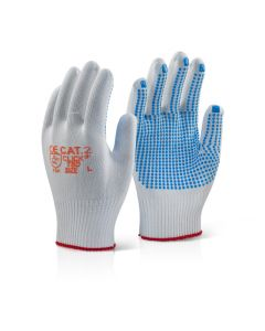 Click 2000 Tronix Blue Dot Gloves