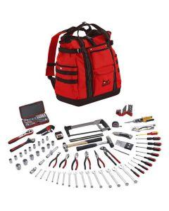 Teng Tools 144 Piece Portable Service Tool Set With TCSB Tool Bag TC144E