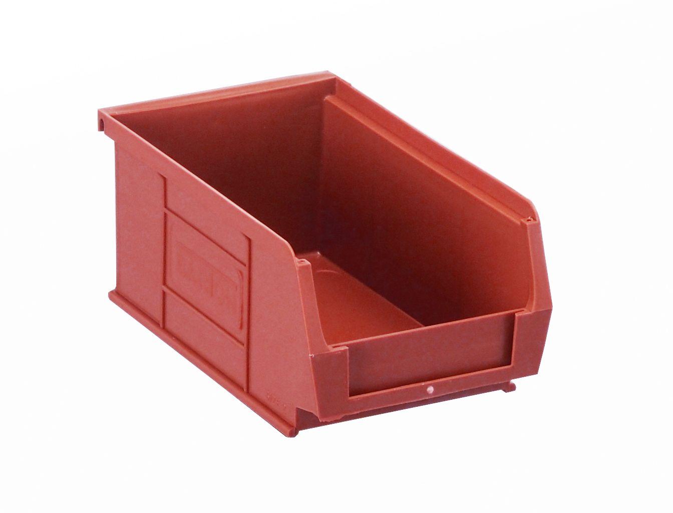 SSI Storage Bins Red