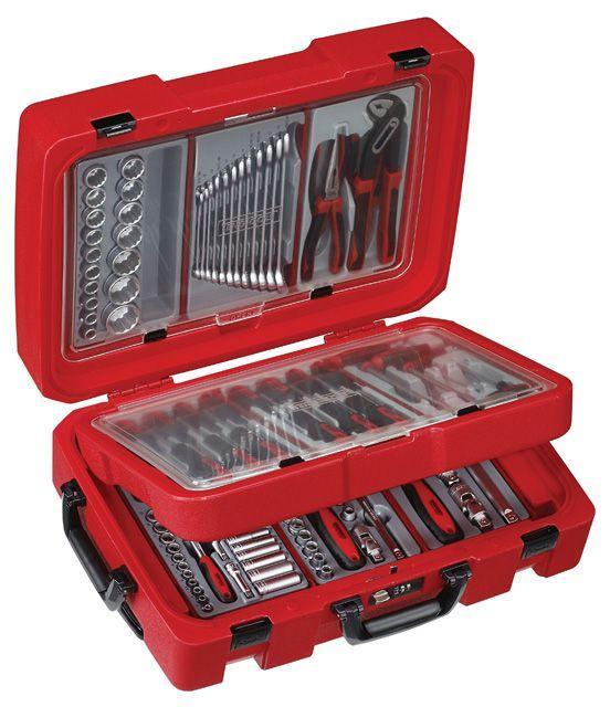 Teng Tools 110 Piece Portable Service Tool Kit 1