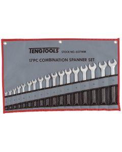 Teng Tools 17 Piece Combination Spanner Set