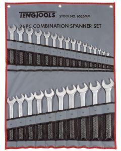 Teng Tools 26 Piece Combination Spanner Set