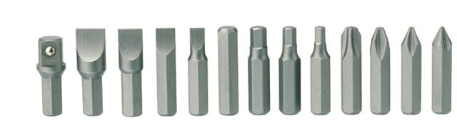 Teng Tools 13 Piece Bit Set For Use With ID515