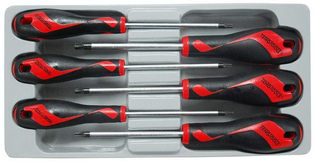 Teng Tools 6 Piece TX Screwdriver Set