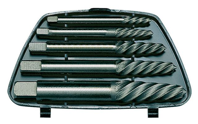 Teng Tools 5 Piece Screw Extractor Set