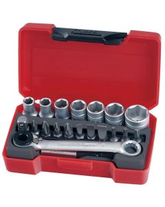 "Teng Tools 20 Piece 1/4"" Drive Socket Set"