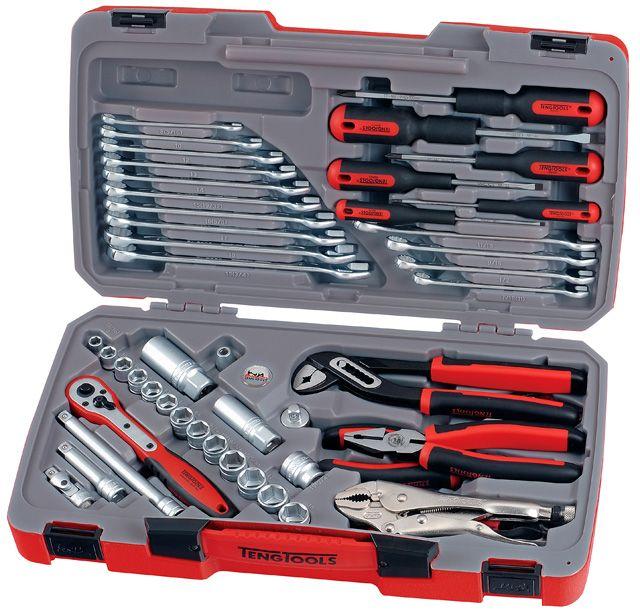 """Teng Tools 48 Piece 3/8"""" Drive Tool Set"""