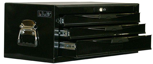 Teng Tools Black 3 Drawer Middle Box TC803NBK