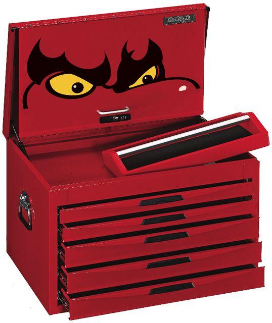 Teng Tools 5 Drawer 8 Series Deep Top Box TC805NFX