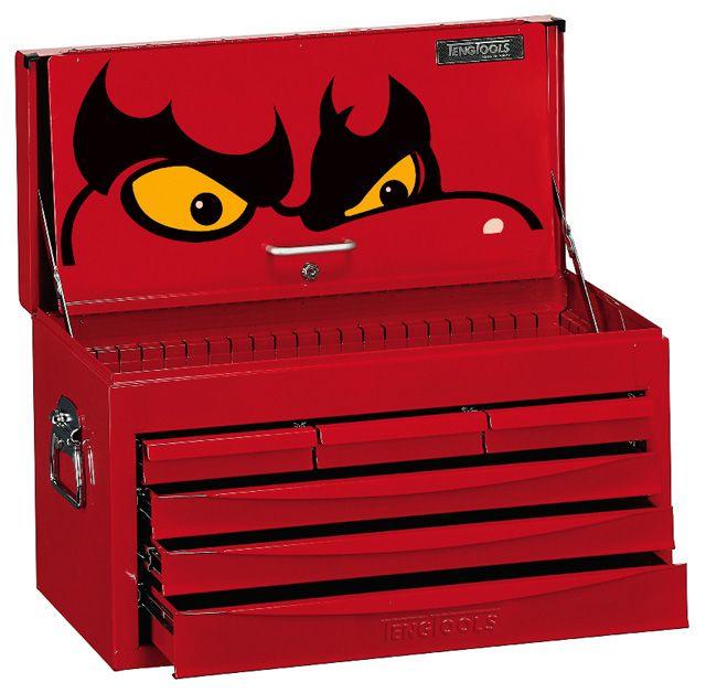 Teng Tools 6 Drawer 8 Series SV Top Box TC806SV