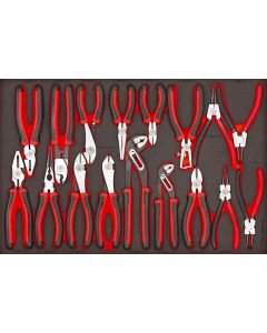 Teng Tools 17 Piece Mega Bite Plier Set