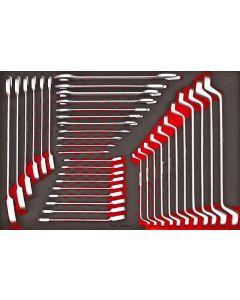 Teng Tools 37 Piece Metric Spanner Set