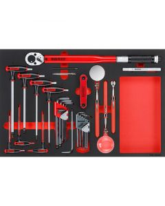 Teng Tools 17 Piece Hex, Torque & Inspection Set