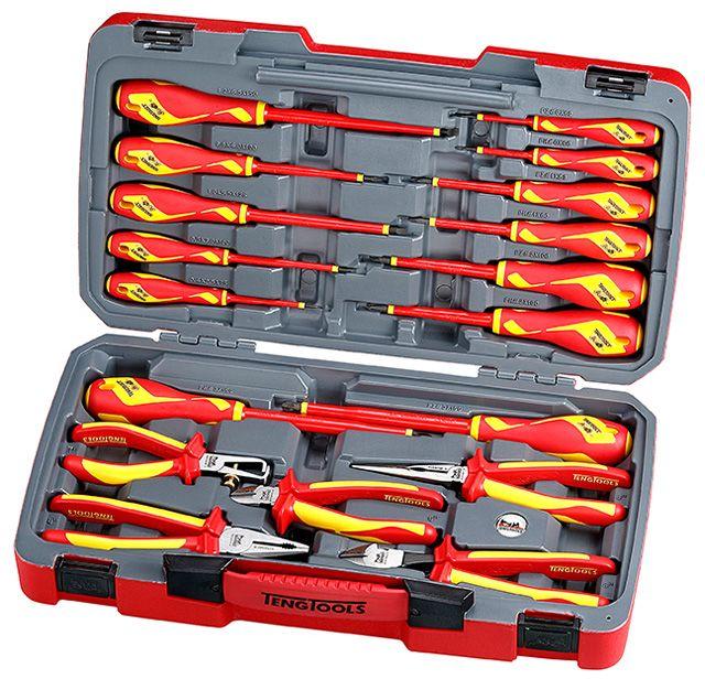 Teng Tools 18 Piece 1000v Insulated Tool Set