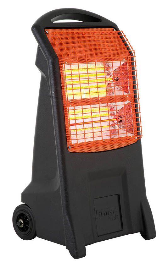 Rhino TQ3 Electric Infrared Cabinet Heater 2200W