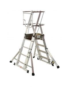 Youngman Teleguard Telescopic Platform Ladders