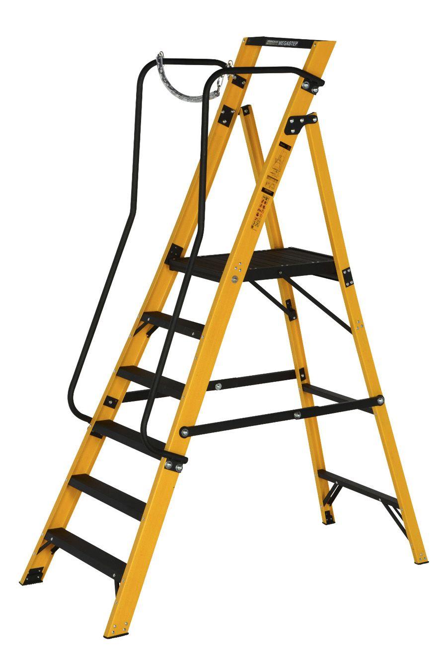 Youngman Fibreglass Megastep Ladders