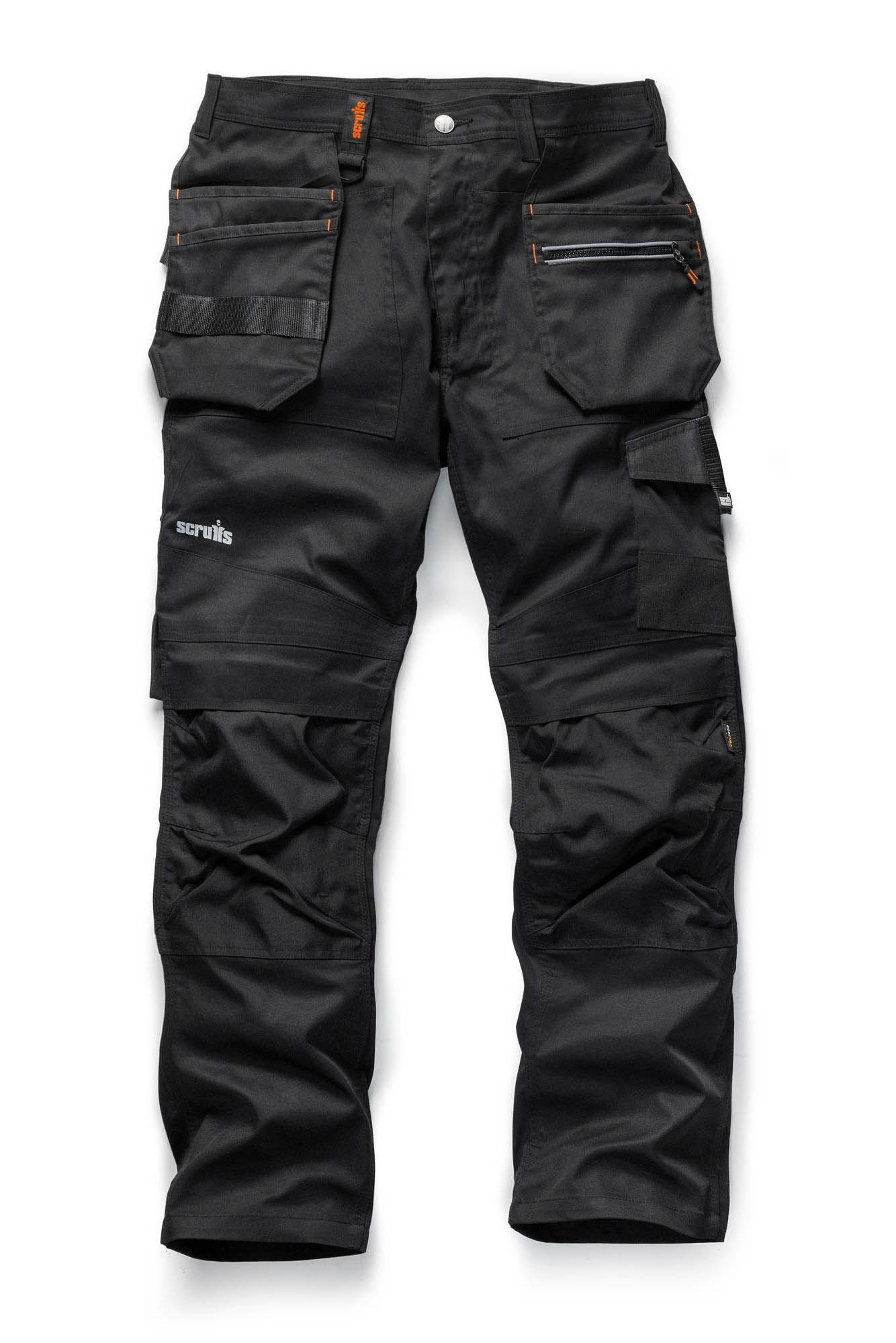 Scruffs Trade Flex Holster Trousers Black