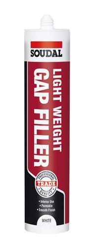Soudal Lightweight Gap Filler White