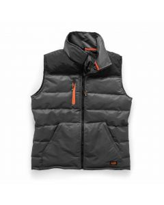 Scruffs Worker Bodywarmer Black & Charcoal