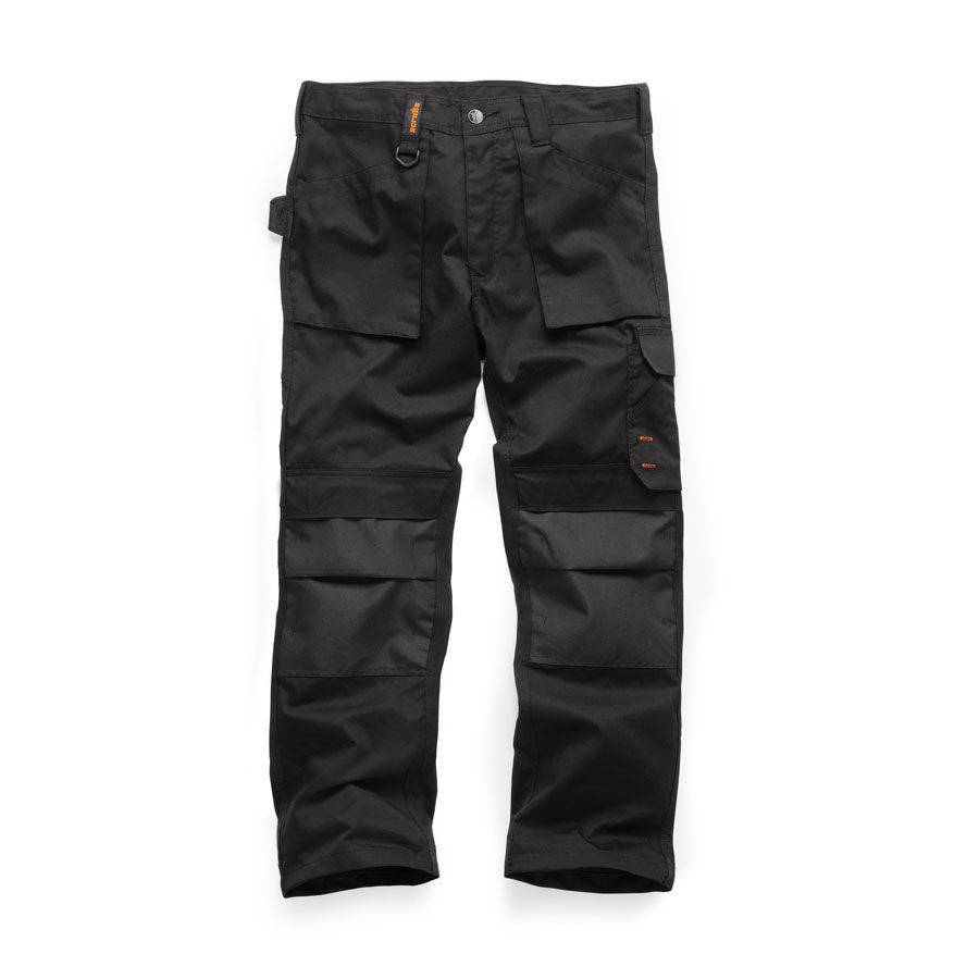 Scruffs Worker Trousers Black