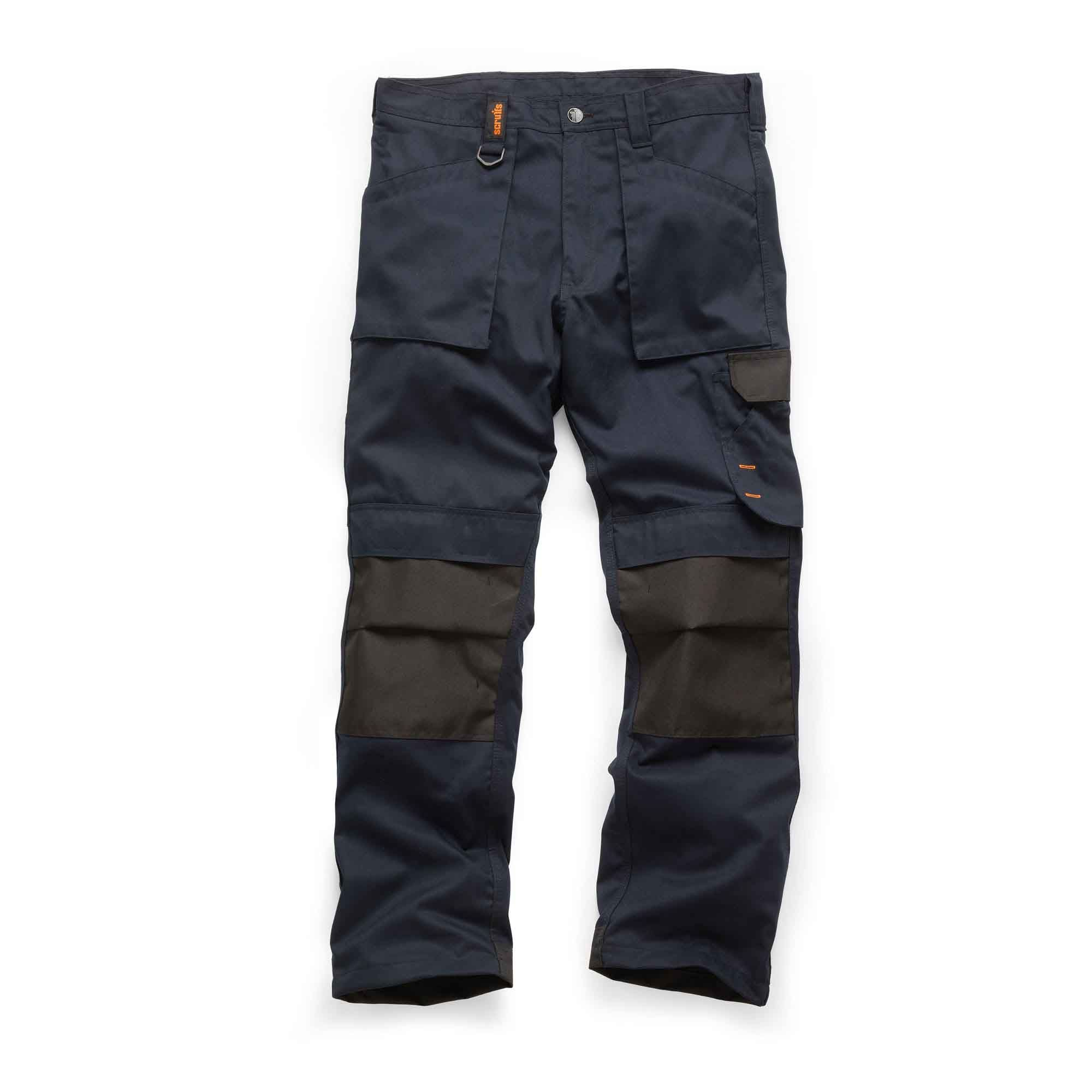 Scruffs Worker Trousers Navy