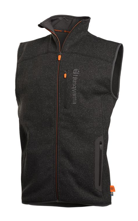 Husqvarna Xplorer Fleece Vest Jacket Granite Grey