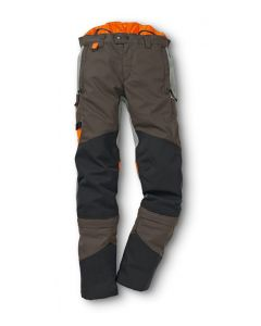 Stihl HS MultiProtect Hedge Trimmer Protective Trousers Khaki / Black