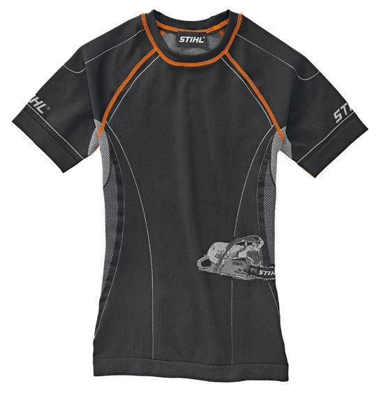 Stihl Advance Short Sleeved Base Layer Top Black