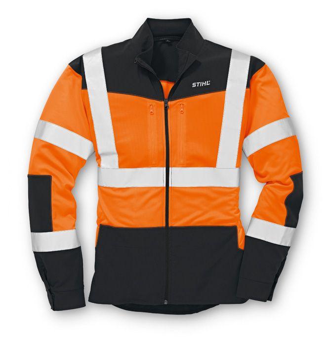 Stihl Vent 471 High Visibility Jacket Orange / Black