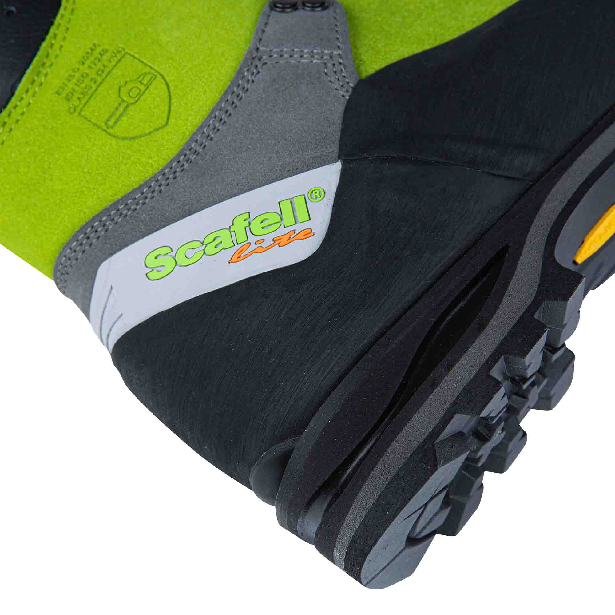 Arbortec AT33000 Scafell Lite Chain Saw Boots Class 2 Lime