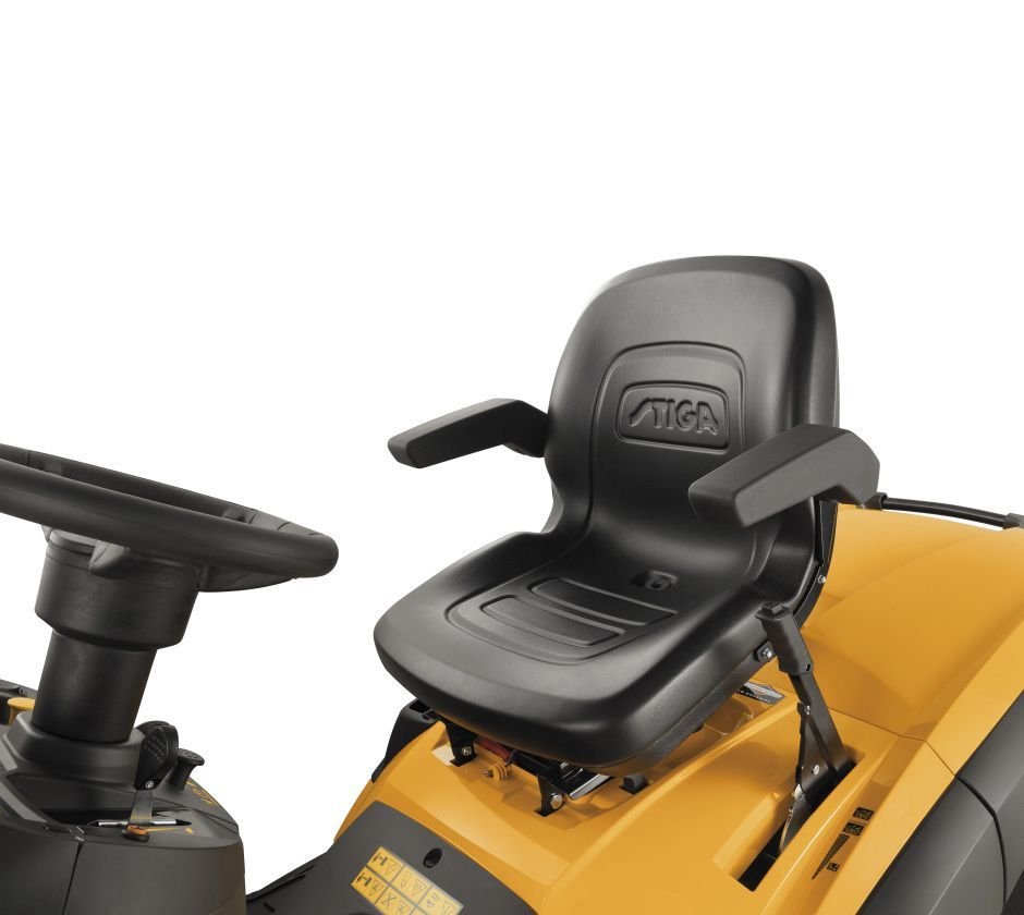 Stiga Estate Pro 9102XWSY 4WD Petrol Ride On Lawn Mower 102cm