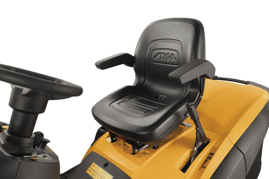 Stiga Estate Pro 9122XWSY 4WD Petrol Ride On Lawn Mower 122cm