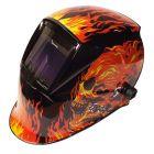 Parweld XR938H Large View Light Reactive Helmet - Flame