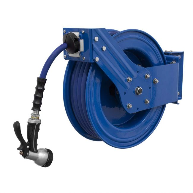 Sealey Heavy Duty Retractable Water, Heavy Duty Garden Hose Reel