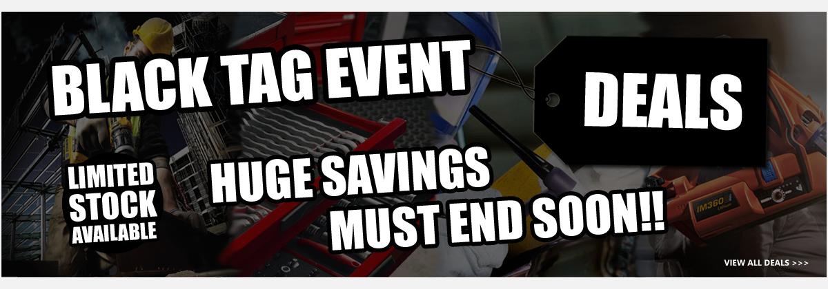 Black tag Event